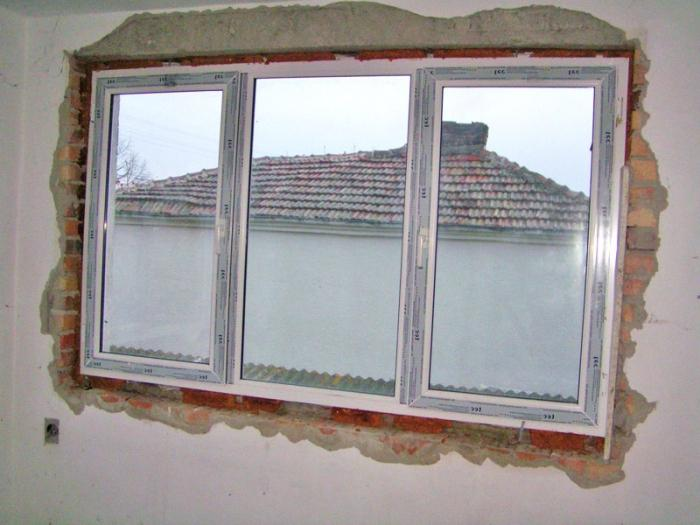 Installation of PVC windows in a wooden house - application of new technologies in the arrangement of a country house
