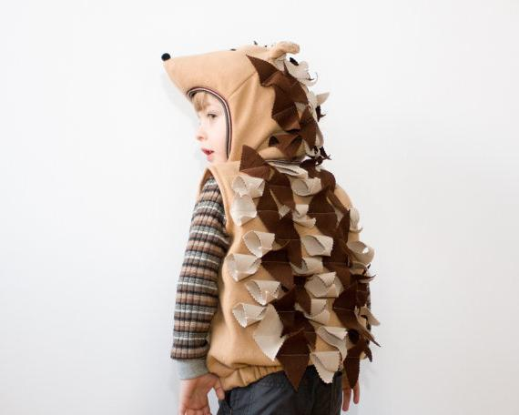 Create a beautiful hedgehog suit with your own hands